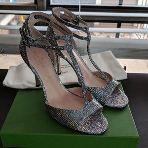 Kate Spade Ines Glitter Heels